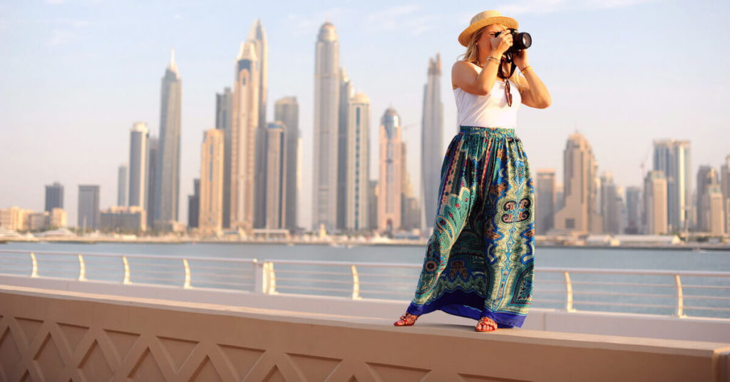 Stroll on the Boardwalk at Palm Jumeirah