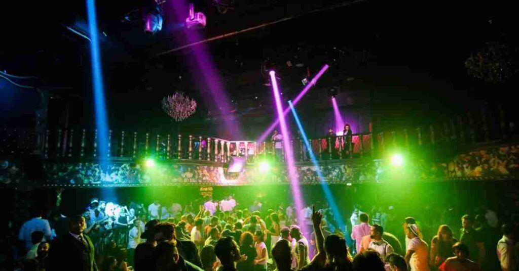 Wild Parties At Clubs And Bars